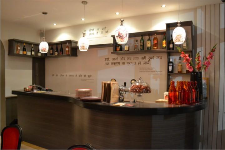 Accueil du Currry House, restaurant à Nantes