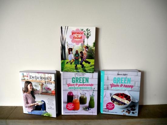 Peace'n food, Green glam et gourmande, Green glam et happy, Deliciously Ella