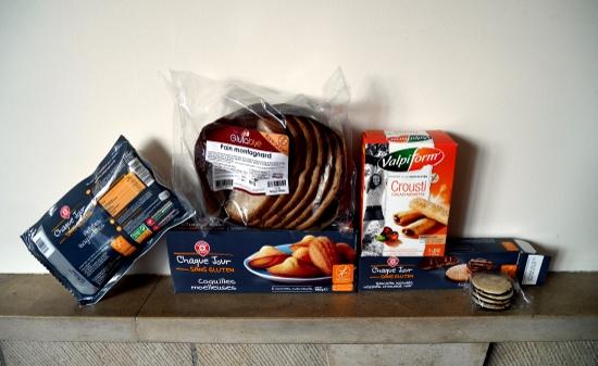 Produits industriels sans gluten