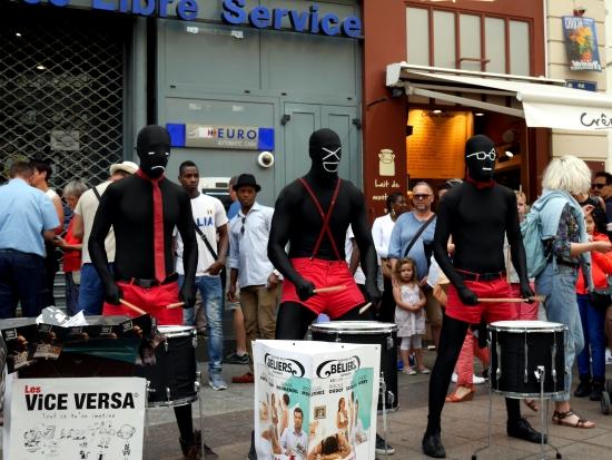 Musiciens de rue à Avignon