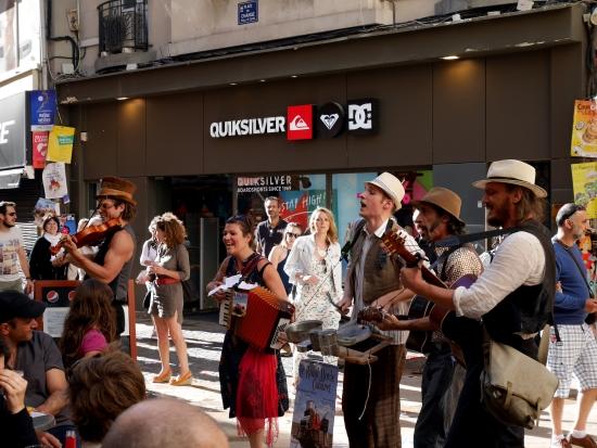 Musiciens au Festival d'Avignon