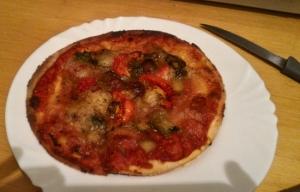Pizza vegan aux légumes grillés Les P'tits Chefs du Bio