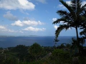 Vue sur le Pacifique du Summit, Vanuatu